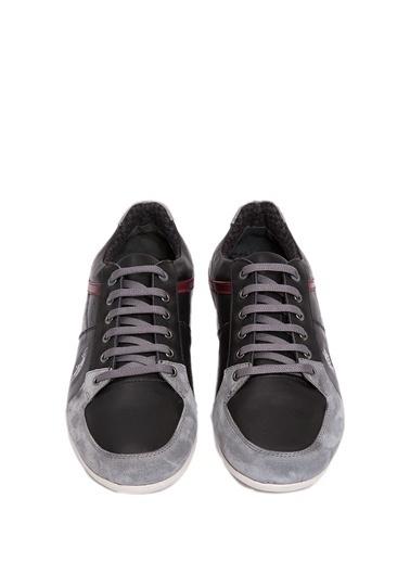 U.S.Polo Assn. %100 Deri Casual Ayakkabı Siyah